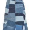 Ksenia Schnaider Reworked Denim Patchwork Skirt