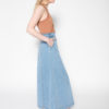 Rolling Grenades Kowtow A-line Denim Skirt