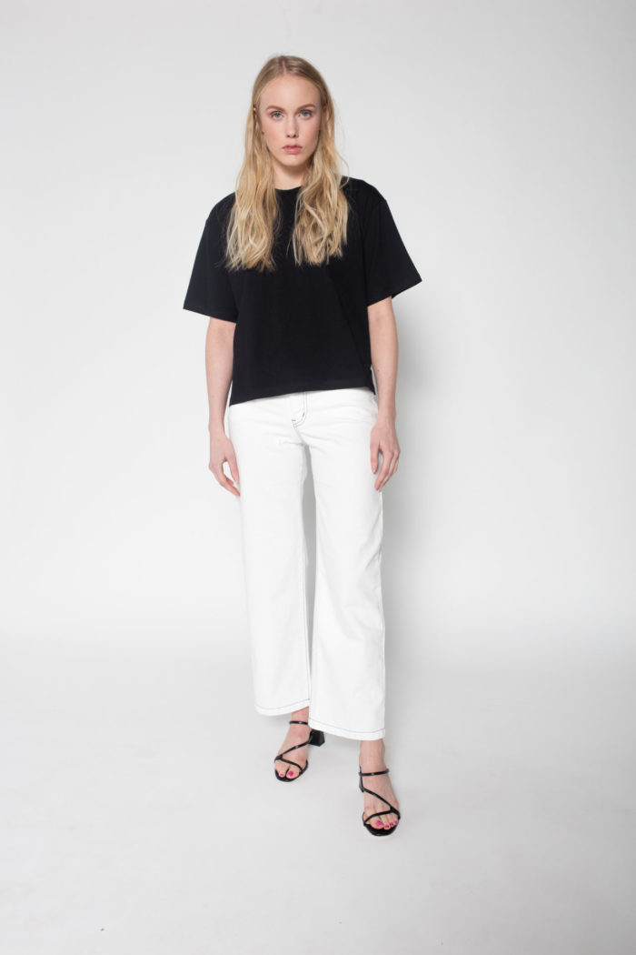 Rolling Grenades Kowtow Boxy T-shirt in Black