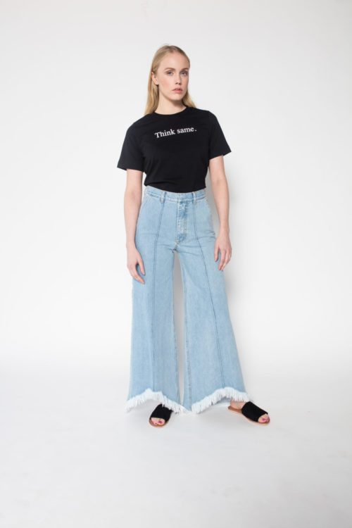 Rolling Grenades Ksenia Schnaider Think Same T-shirt Black