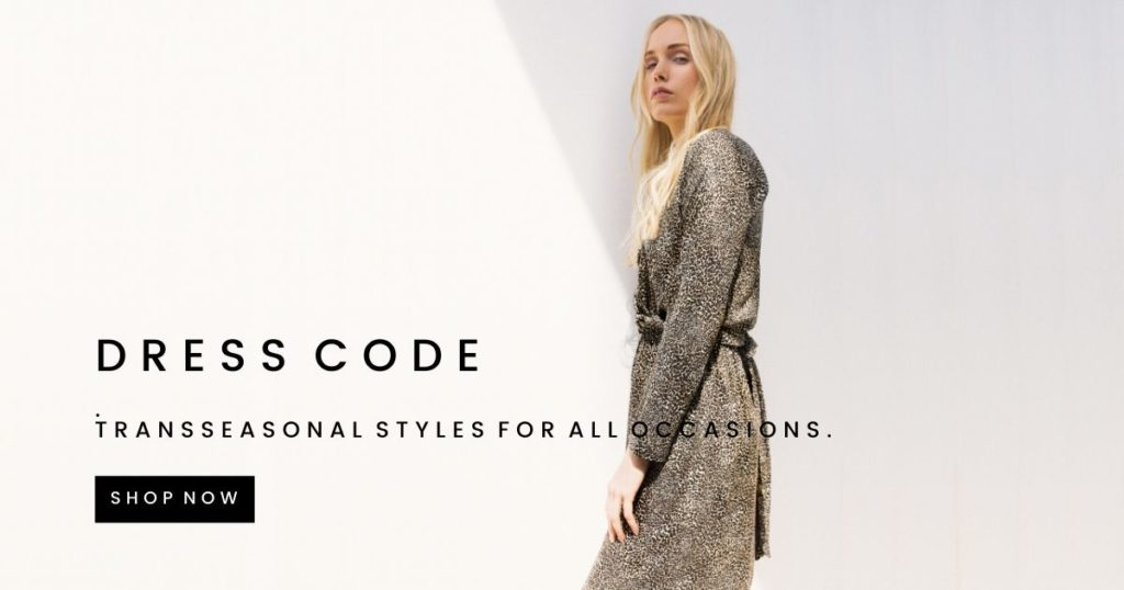 Trans-seasonal styles for all occasions. Shop Dresses now