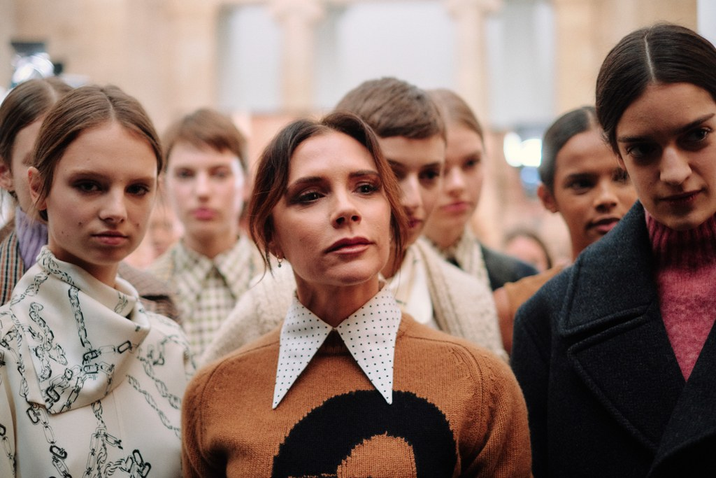 Fashion Downloaded Image - Victoria Beckham live streamed her AW19 collection on her Youtube channel.