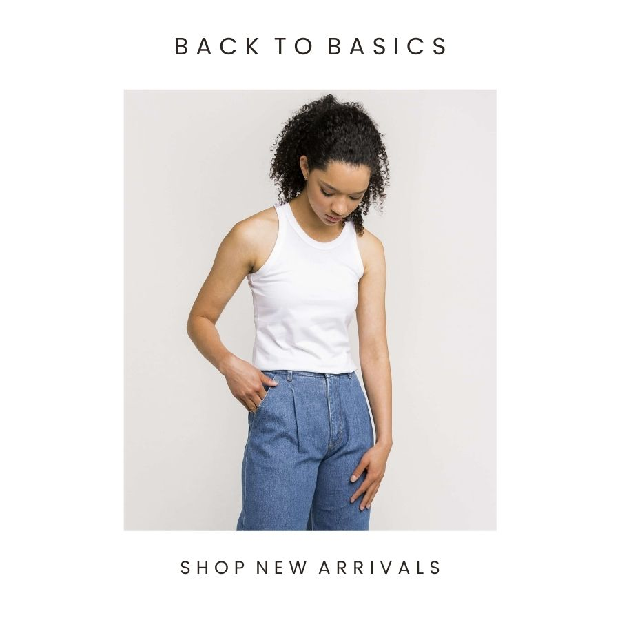 New Women's Basics from Ethical and Sustainable brands