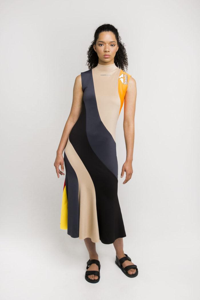 Sustainable streetwear label Ksenia Schnaider Reworked Dress