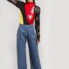 Sustainable streetwear label Ksenia Schnaider's Reworked Top